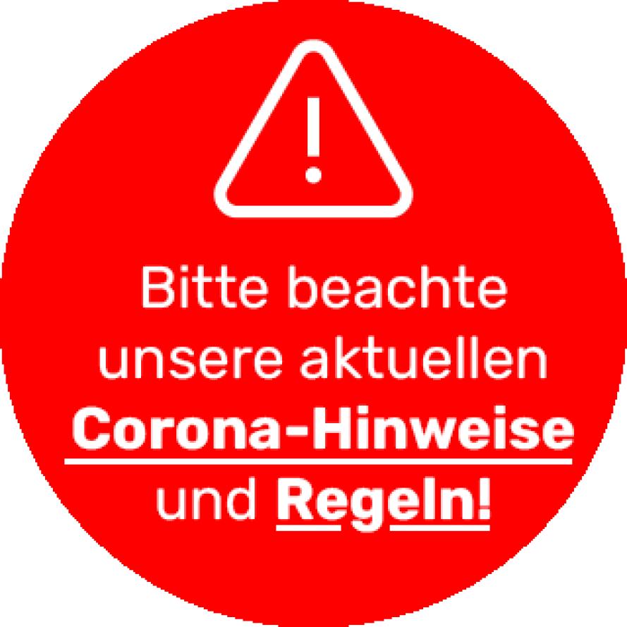 Corona_Button unterstrichen